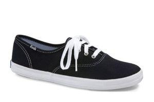 Keds black oxfords size 6.5